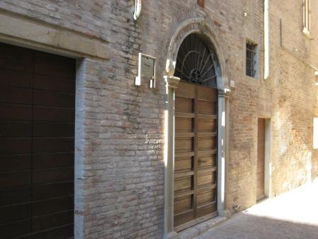Pesaro, Sephardi Synagogue, via delle Scuole