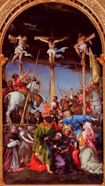 49 Crocifissione Monte San Giusto Macerata Marche small