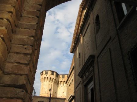 Gardara, Rocca