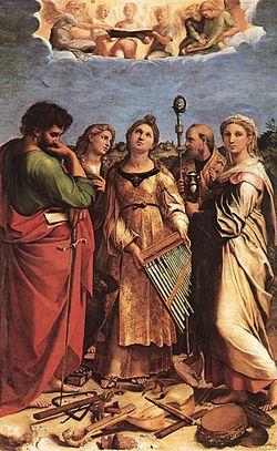 Santa Cecilia by Raphael