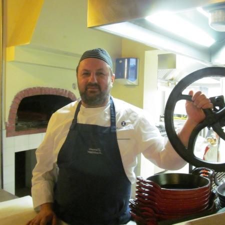 Andrea Aiudi, the Chef