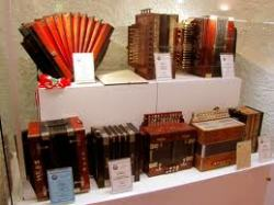 Accordions on display in Castelfidardo