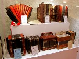 Accordions on display in Castelfidardo