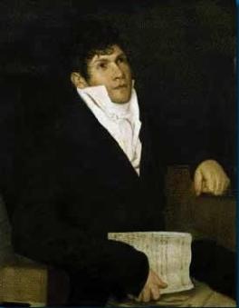 Gaspare Spontini, portrait