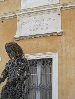Pesaro, the Music Conservatory