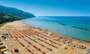 The beach of Pesaro