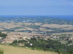 A view on Mombaroccio
