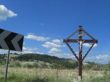A cross along the way