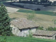 An abandoned farmer's house