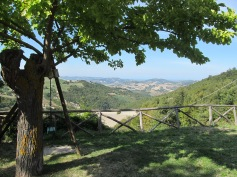 A view from Girolomoni Agritourism