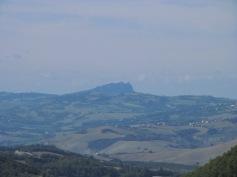 The Republic of San Marino from the Locanda GirolomoniGra
