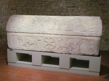 Paleochristian sarcophagus - Diocesan Museum
