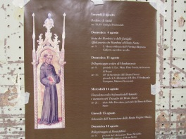 August events at the convent