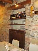 A few local wines at Locanda Montelippo