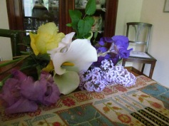 Flowers picked by nonna Lella in our garden