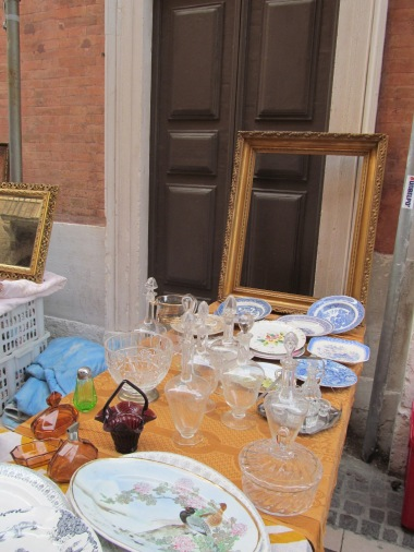 Glassware and frames