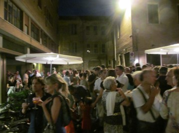 Ca' Pesaro - the party