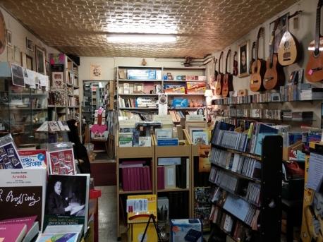 Baldelli shop - the inside