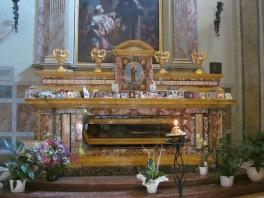 Beato Sante - relics