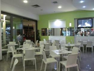 Baia Flaminia: a bar