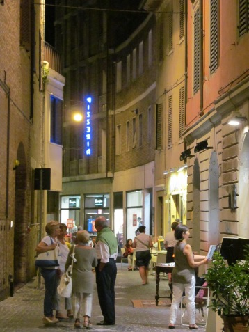 Almerici street in Pesaro
