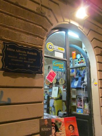 Baldelli music shop