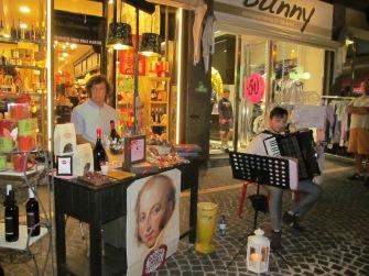 A chocoloate shop in Branca street