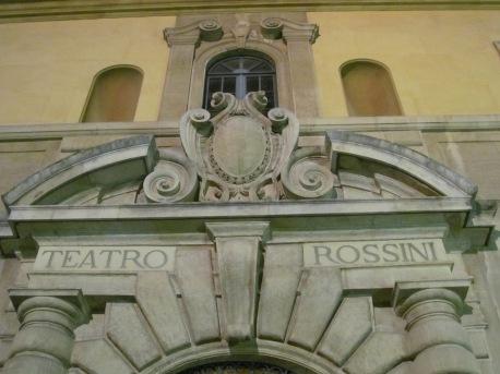 Rossini theatre - a detail