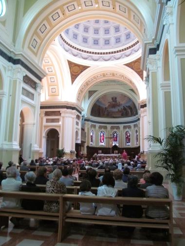 Morning celebration on Saint Patron day