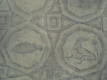 Mosaic floor- a detail