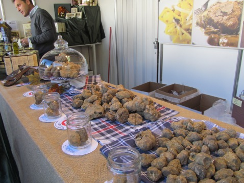 White truffle. About 5,000€ of it