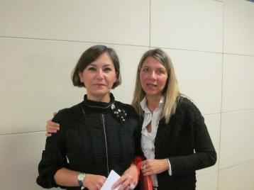 Cristina Ortolani and Cristina Pieri