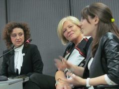 Alice Aiudi, Mariagrazia Stocchi and Francesca Vitali