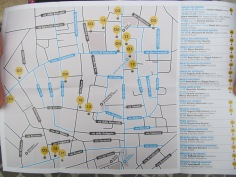'Music map' of the town center