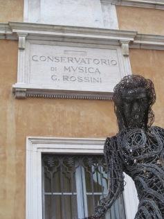 Music Conservartory entitled to G. Rossini, born in Pesaro