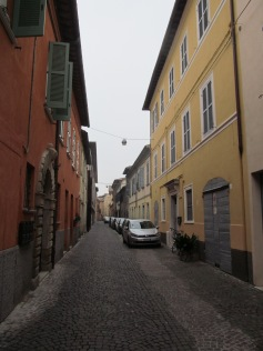Petrucci street - on our way to Chiesa Nome di Dio