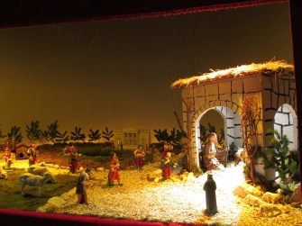 Nativity scene at the Sanctuary of Our Lady of Graces