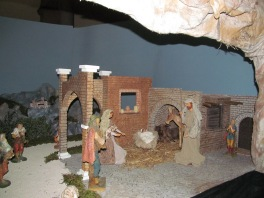 Nativity scene at the cathedral