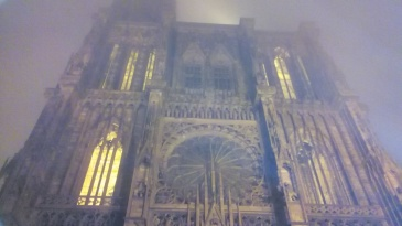 The Strasbourg Cathedral --impressive!