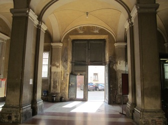 Music Conservatory - main entrance