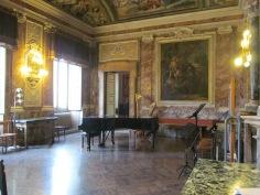 Tempietto Rossiniano inside the Music Conservatory