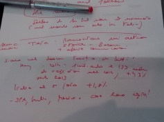 My notes...