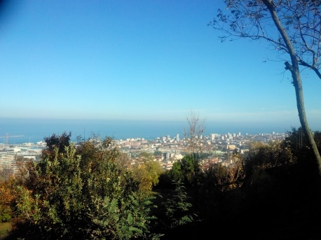 Pesaro from San Bartolo hill