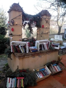 An old books corner