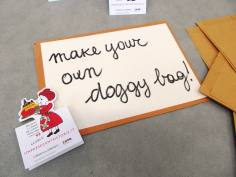 No food waste with your doggy bag!