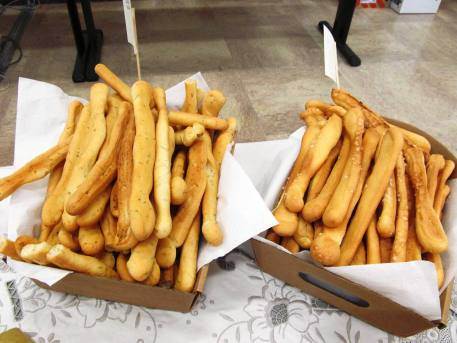 Breadsticks with rosemary