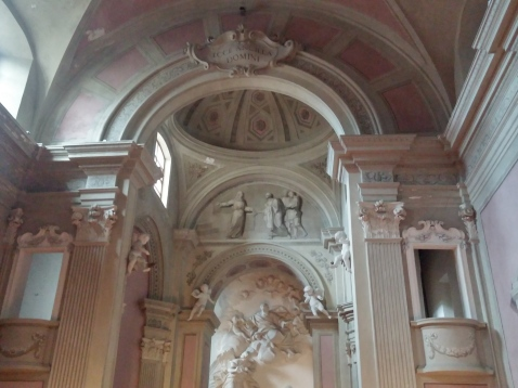 Chiesta dell'Annunziata: behind the Alter