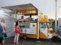 A fancy street food little truck from the southern Calabria