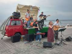 A folk music band