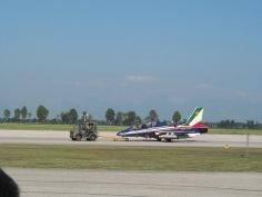 A/PAN MLU Aermacchi on the landing field
